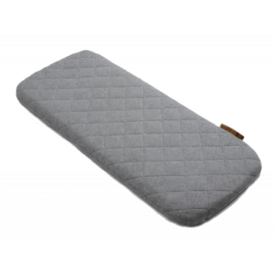 Наматрасник Wool mattress cover Grey melange