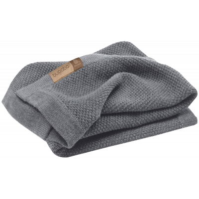 Плед Wool blanket Grey melange