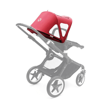 Летний капюшон Cameleon/Fox breezy sun canopy Neon red 230312NR01