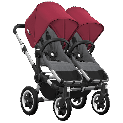 Bugaboo Donkey 2 Twin Ruby red