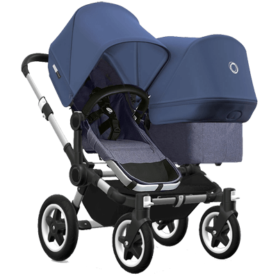 Bugaboo Коляска для двойни Donkey 2 Twin Sky blue