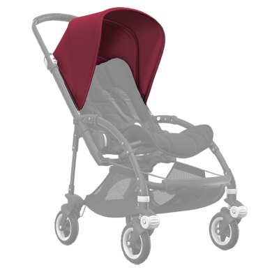 Капюшон Bee 5 Extendable sun canopy Ruby red