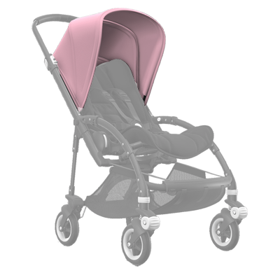 Капюшон Bee 5 Extendable sun canopy Soft pink