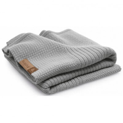 Плед Wool blanket light grey